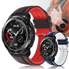 22Mm Horloge Band Voor Honor Horloge Gs Pro Band Siliconen Polsband Horlogeband Armband Riem Voor Honor Magic Horloge 2 46Mm Ремешок