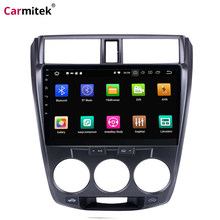 "Carmitek Android 10.1 ""Touch screen Car Radio Per Honda CITY 2011 2012 2013 2014 2015 2016 2 Din GPS lettore multimediale Unità di Testa(China)"