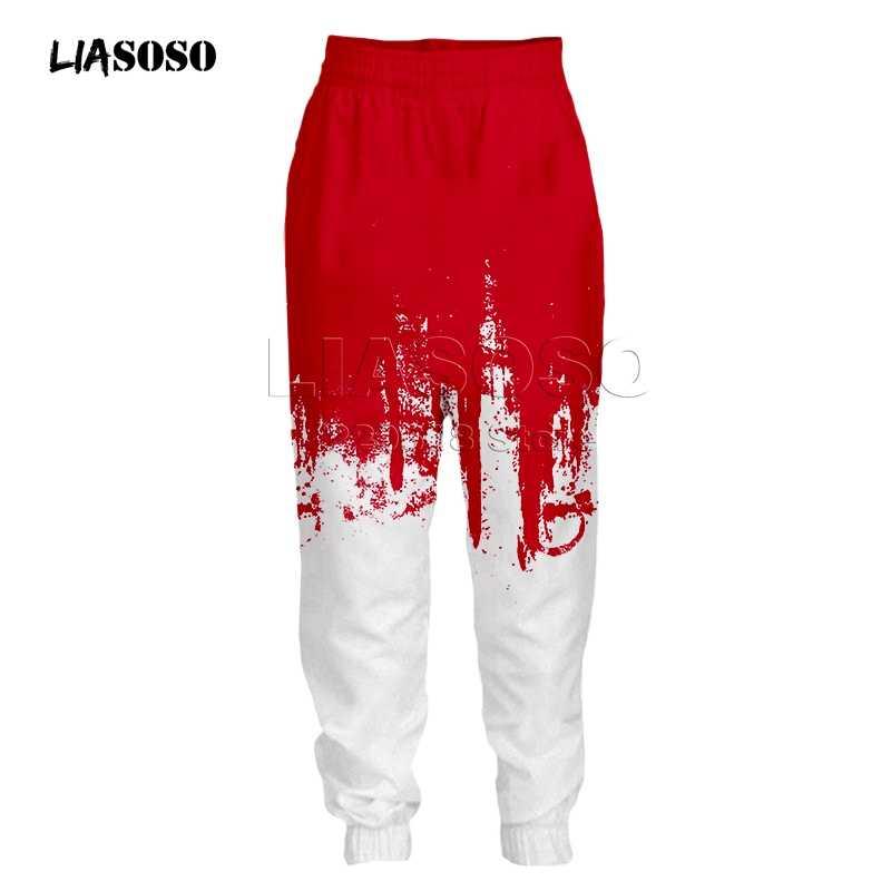 Pria & Wanita Fashion Pakaian Set Sweatshirt + Celana 2 Buah Baju Olahraga Hoki Seragam Cetak Sesuai dengan Pakaian Olahraga Dua warna Hip Hop Suit