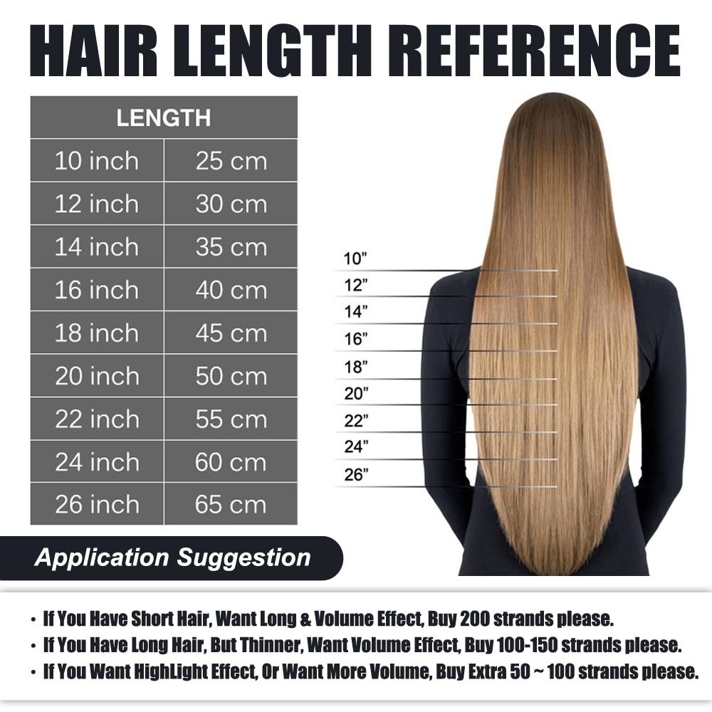 Capsule U-Nail-Tip Human-Hair-Extensions Hair-Platinum-Blonde Pre-Bonded Real-Remy Fusion