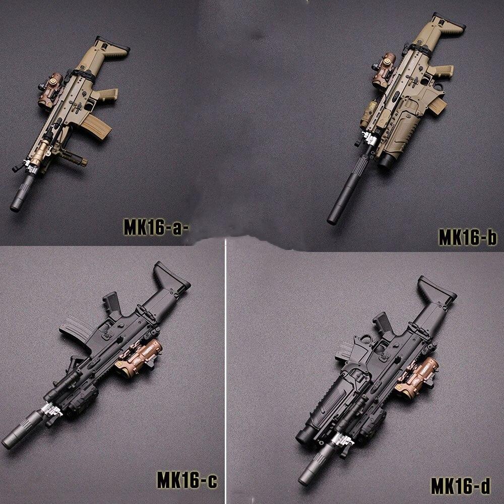 mini times toys 1//6 MK16 Assault Rifle Gun Props Fit 12/'/' Soldier Action Figure