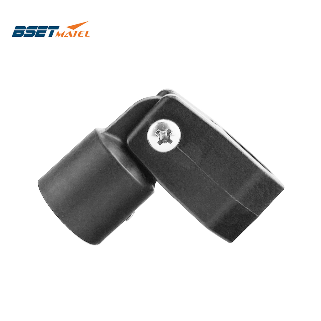 High Quality Nylon Boat Bimini Top Fitting Slide Cap Slide Sleeve Pipe Eye End Cap Jaw Slide Clamp External Eye End Canopy Tube
