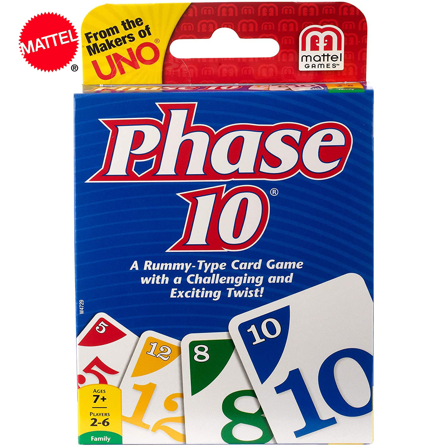 Topsale Puzzle Games Mattel Genuine UNO Phase10 Family Funny Entertainment Board Game Fun Poker Playing Cards Gift Box Phase 10
