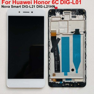 Image 2 - Original LCD Display For Huawei Honor 6C DIG L01 / Nova Smart DIG L21 DIG L21HN Touch Screen Digitizer Assembly Frame with Tools