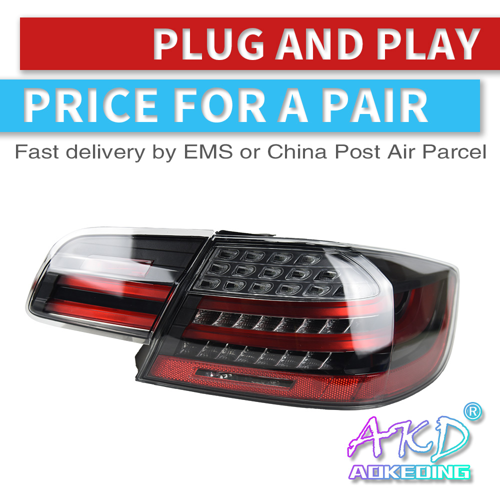 AKD Car Styling Tail Light For BMW M3 E92 330i 335i M3 2006-2013  Taillight Assembly Rear Brake+Reverse+Signal Lamp