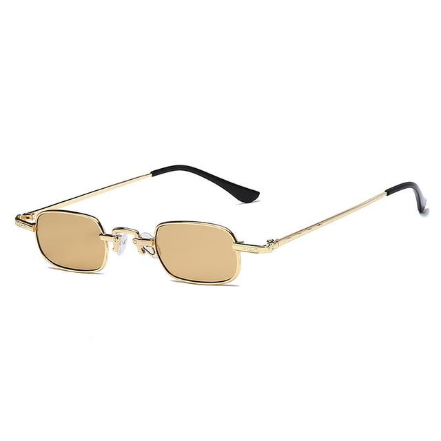 Фото солнцезащитные очки в стиле ретро для мужчин и женщин небольшие