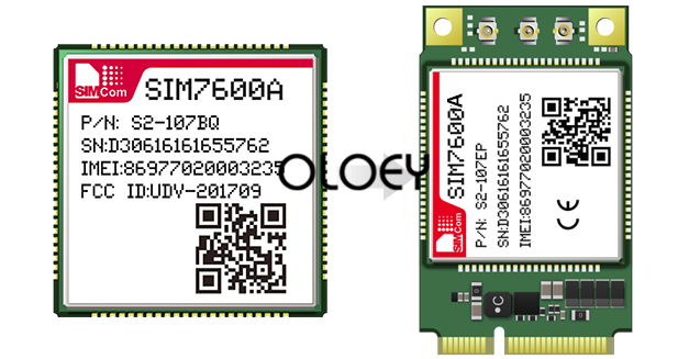 SIM7600A MINIPCIE LTE Module,  CAT1 4G Module, 100% Brand New Original