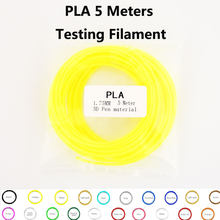 SUNLU PLA Filamento 3D Penna Ricariche filamento 1.75 millimetri 5 metri per confezione per 3D Penna di prova