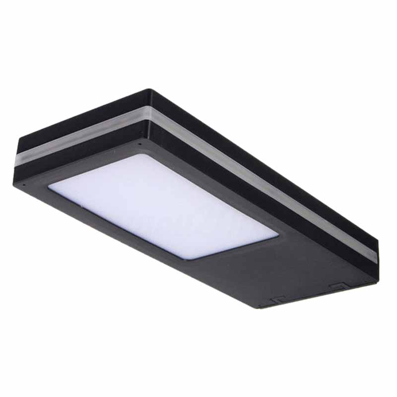500Lm 144Led Solar Wall Light Outdoor Waterproof Garden Wall Light Solar Power Sensor Garden Light Human Body Energy Saving Deco|Outdoor Wall Lamps| |  - title=