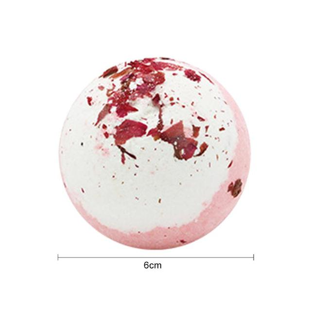 Bath Salt Ball Lightness and Portability No Space Occupy Ease Shower Bomb Bubble Moisturize Exfoliating Soap Essential Oil 1