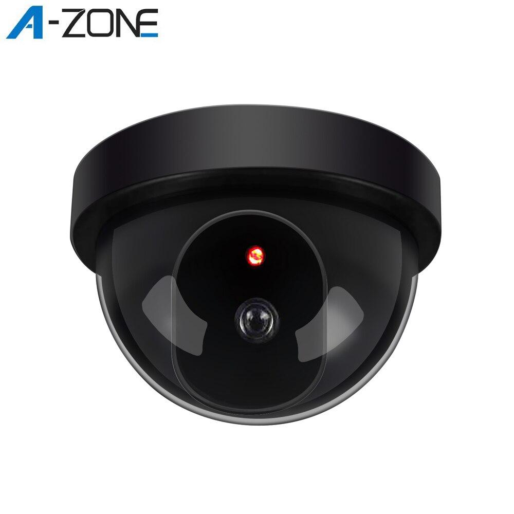A-ZONE casa cúpula simulada cámara de seguridad infrarroja inalámbrica CCTV vigilancia falsa cámara exterior falsa cámara de simulación Wifi cámara IP PTZ 1080P 3MP 5MP Super HD 5X Zoom Audio bidireccional inalámbrico PTZ cámara de seguridad de vídeo doméstico al aire libre 60m IR P2P