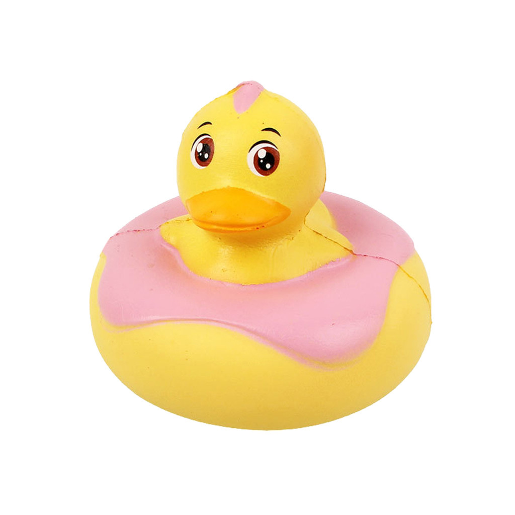 Slow Rebound Small Yellow Duck Squeeze Healing Fun Kids Adult Toy Stress Reliever Decor Toys  Birthday Gift Anti Stress #A