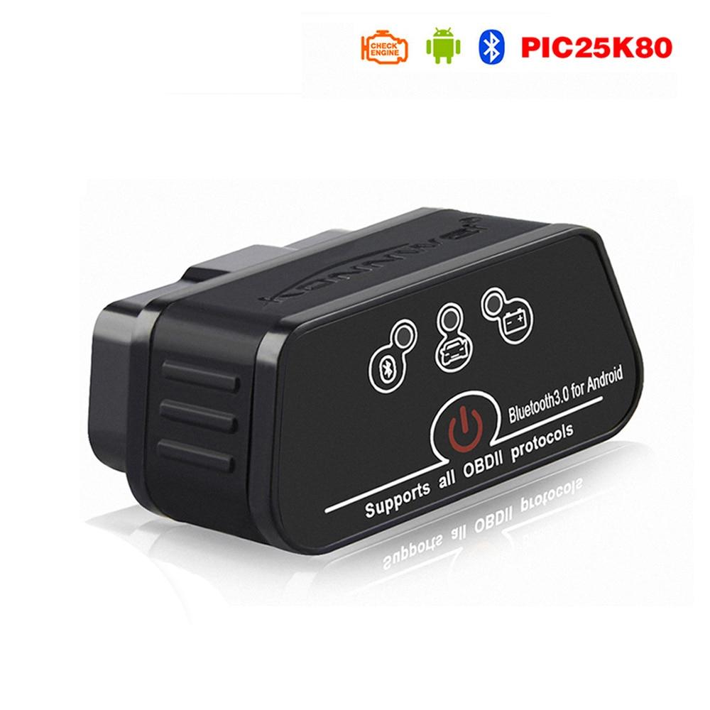 V1.5 ELM327 Obd2 Bluetooth Auto Scanner Adapter EML 327 v 1.5 for Android OBD Car Diagnostics Auto Tool