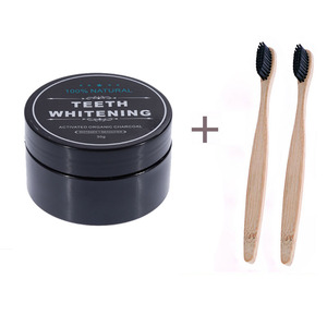 Image 5 - OSHIONER 30g Teeth Whitening Oral Care Charcoal Powder Natural Activated Charcoal Teeth Whitener Powder Oral Hygiene