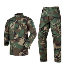 ACU Multicam Camouflage Adult Male Security Military Uniform Tactical Combat Jacket Special Force Training Army Suit Cargo Pants(China)