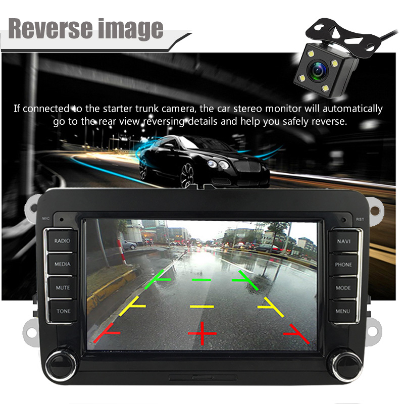 lowest price Leemsp New Hd Ccd Car Front Side Camera For Auto Rear View Camera Mirror Image Parking Line Convert Lines Universal Waterproof