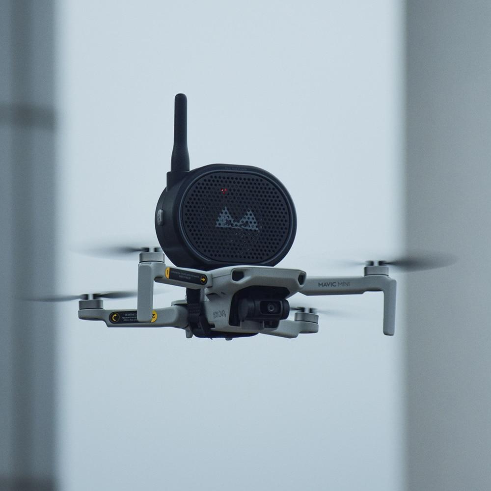 Speaker Megaphone For Drone Camera Aerial Broadcasting Loudspeaker For Mavic Mini Pro 2 Pro Zoom FIMI Phantom 3 4 Accessories