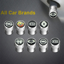 4pcs Car Wheel Tire Valves Tyre Air Caps case For Toyota Corolla Yaris Rav4 Avensis Auris