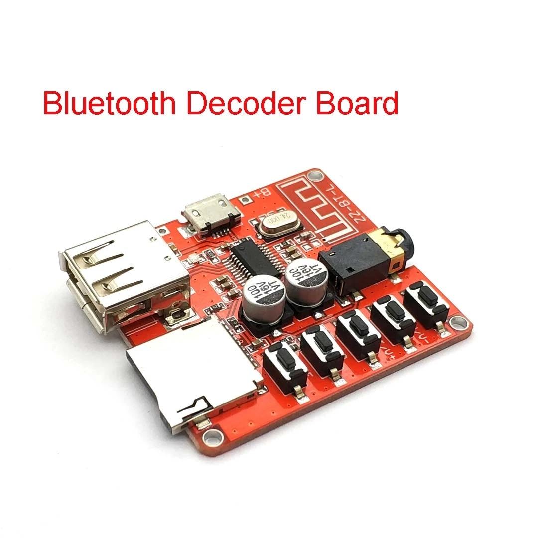 1PCS Bluetooth 5.0 Audio Decoder Board MP3 Lossless Car Speaker Amplifier NEW