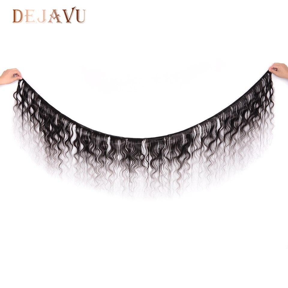 DEJAVU Body Wave Bundle Brazilian Hair Weave Bundle Non-Remy Human Hair Bundle 30 inch Bundle 1 Piece Hair Extension Cabelo