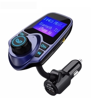 """VTIN wireless Bluetooth FM transmitter Modulator car Kit 1.44"""" screen handsfree calling USB MP3 player with TF/Micro SD Card
