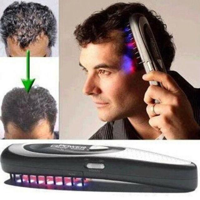 مشط تدليك الأسرة بالليزر مشط لنمو الشعر بالأشعة تحت الحمراء إعادة نمو الشعر سماكة الاستخدام المنزلي