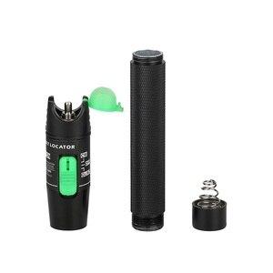 Image 3 - Free shipping 20mW VFL Fiber Optic Cable Tester Pen Visual Fault Locator 20KM 650nm FP LD laser