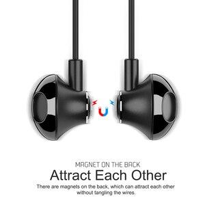 Image 5 - Auriculares magnéticos con cable y adaptador de carga para iPhone 7, 8 Plus, X, XS, 11 Pro, Max, Huawei, Samsung