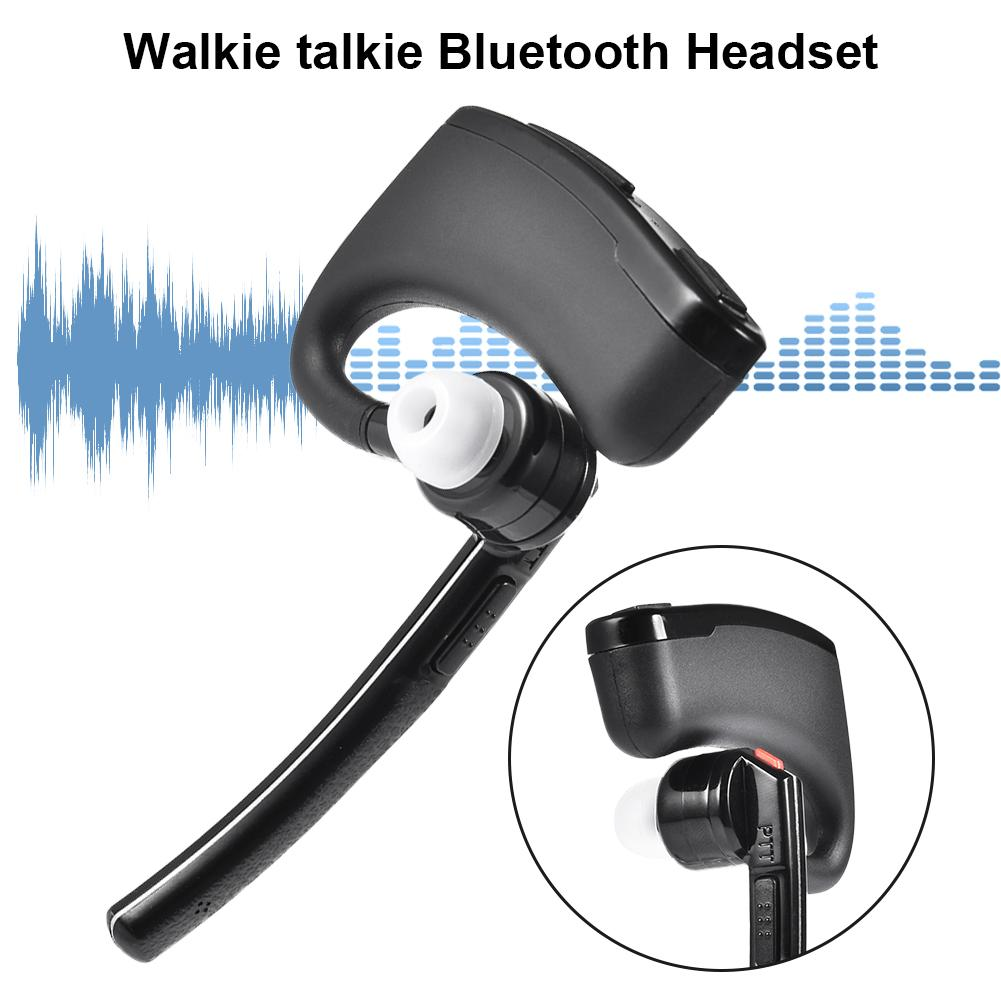 Wireless Headset Bluetooth Walkie Talkie Headphones For Baofeng TYT All K-connector Radios Earphones Accessories