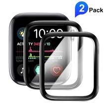 PET + PMMA 3D Full Screen Protector for apple watch 5 4 38 40 44 42mm Anti Blue Ray Soft film for Iwatch 3 2 Full glue(Not Glass подставка под шип cold ray spike protector 2 medium gold 4 шт
