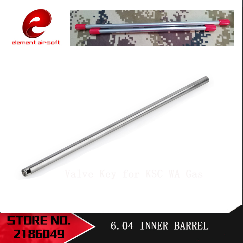 Element Stainless Steel Inside Diameter 6.04mm Length 280mm And 364mm Inner Barrel Paintabll Airsoft Rifle AEG Hunting Accessori
