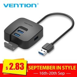 Tions USB HUB High Speed 4 Ports USB 2.0 Hub Splitter Tragbare OTG Hub USB für Apple Macbook Air Laptop PC tablet