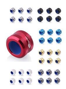 Hard-Tube Fitting Water-Cooler Bykski B-FTHTJ 14/16MM G1/4 for MOD 6pcs/Lot Anti-Off