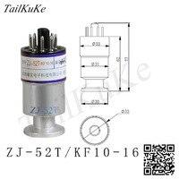ZJ-52T Resistance Gauge Vacuum Gauge ZJ-52 KF16 CF16 Interface Glass Metal Insertion