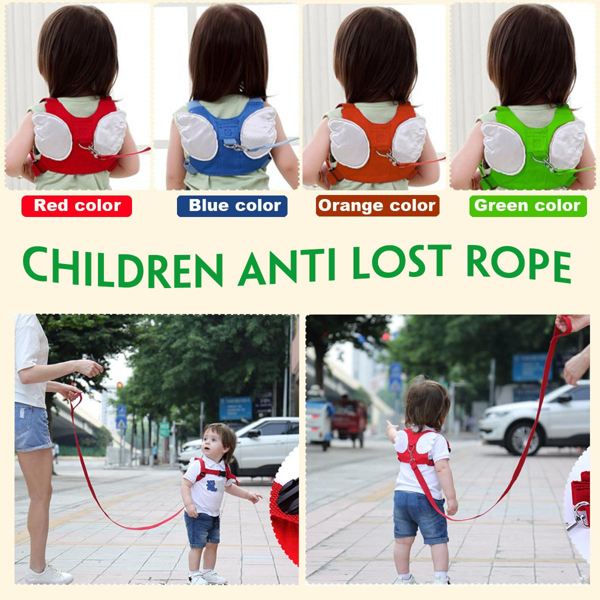 Kids Safety Strap Toddler Walking Anti-Lost Rope Traction Rope Hot Free Ship USA
