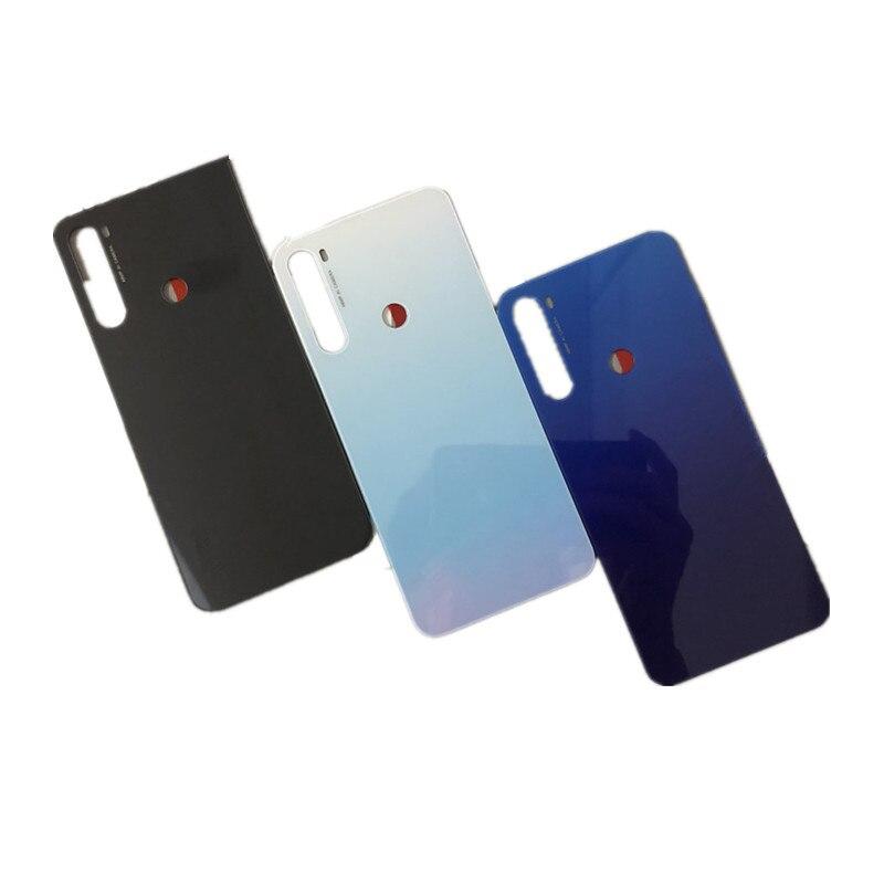 Note8T Original Rear Housing For Xiaomi Redmi Note 8T Glass Back Cover Repair Replace Phone Battery Door Case + Logo Sticker