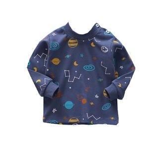 T-Shirt Newborn-Baby Tee-Tops Long-Sleeve Toddler Girls Infant Boys 100%Cotton Cartoon