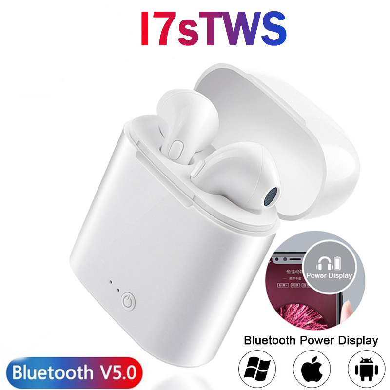 2020 new i7s TWS wireless headphones Bluetooth 5.0 headphones sports earbuds headphones with microphone for Apple Android Xiaomi image