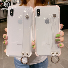 Bling Transparent Case For iPhone X XR XS Max Glitter Clear