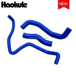 Grzejnik wydajnościowy zestawy węży silikonowych dla NISSAN 350Z Z33 VQ35 G35 niebieski 3 sztuk