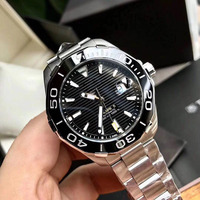 AAA Luxury Brand Sport Chronograph Watches Men Mesh Band Multifunction Waterproof Quartz Watch