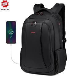Tigernu Marke männer Frauen USB ladung Rucksack 15,6 zoll Laptop Rucksäcke schule tasche rucksäcke für jugendliche casual mochila