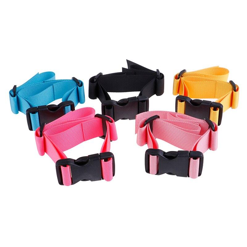 US 63cm Adjustable Backpack Sack Bag Webbing Sternum Buckle Clip Strap Chest