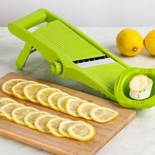 Manual Vegetable Fruit Slicer Stainless Steel Shredder Cutting Device Onion Potato Carrot Lemon Cutter Grater Kitchen Tool