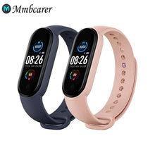 Mais novo m5 inteligente pulseira inteligente relógios de freqüência cardíaca relógio inteligente pulseira esportes relógios banda inteligente smartwatch android