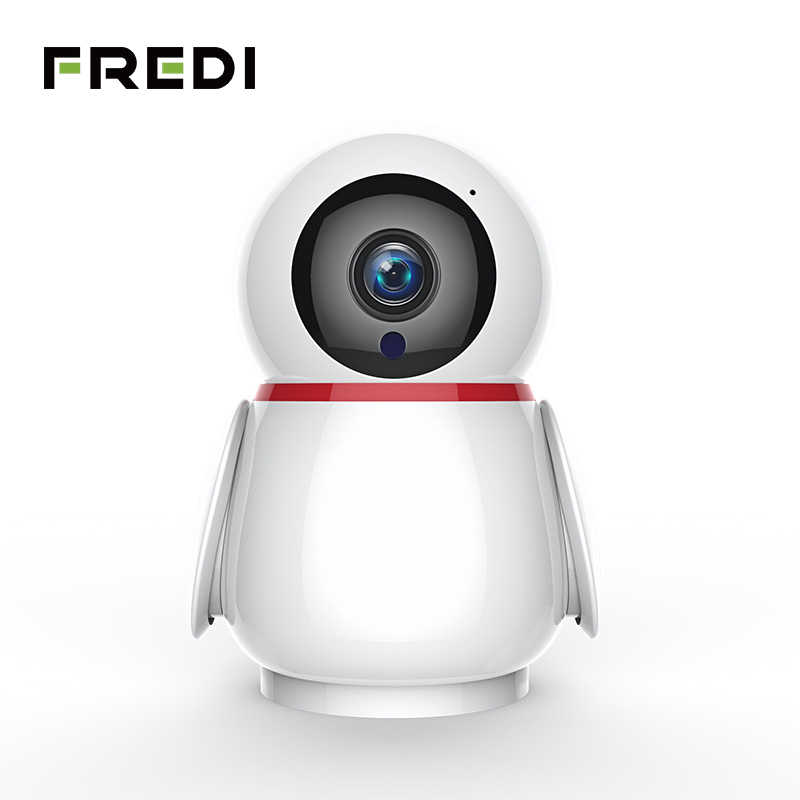 Fredi Home Security Auto Tracking Camera 1080P Draadloze Wifi Surveillance Cctv Camera Ir Nachtzicht Babyfoon Ip Camera