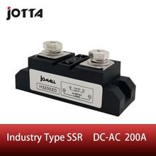 цена на SSR-200A Industrial SSR 200A Input 3-32VDC;Output 24-680VAC industrial ssr relay 200a