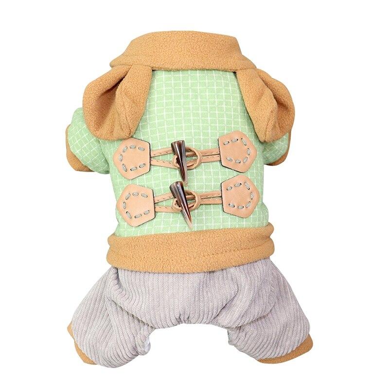 Одежда для собак зимнее теплое пальто утолщенная верхняя одежда