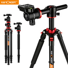 K & F Concept TM2534T – trépied professionnel pour appareil photo DSLR, monopode en Aluminium et magnésium de 66 pouces avec tête sphérique à 360 °, pour Canon et Nikon