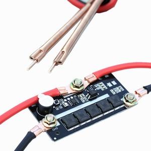 Image 1 - DIY Spot spawacze Pen dla 18650/26650/32650 przenośne 12V przechowywanie baterii maszyna do zgrzewania punktowego płytka obwodu drukowanego sprzęt spawalniczy